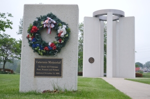 Veterans Memorial, Aurora, Illinois